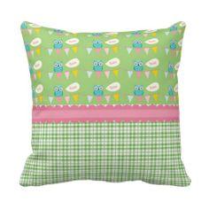 Celebration Owls HOO Throw Pillow #owls #OwlPillow #pillow
