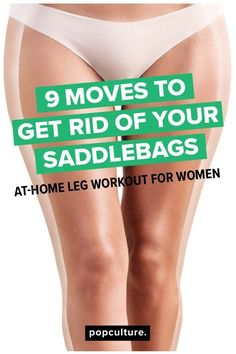 9 exercises to get rid of your sadllebags for good! Fast, at-home workout to target outer thighs. | Posted By: NewHowToLoseBellyFat.com