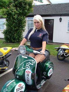 All things Lambretta & Vespa Vespa Bike, Motos Vespa, Piaggio Vespa, Lambretta Scooter, Scooter Motorcycle, Motorbike Girl, Vespa Scooters, Motorcycle Girls, Vintage Moped