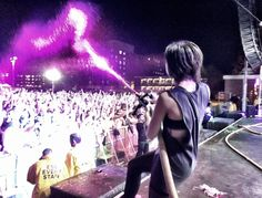 Krewella at Life In Color - Worlds Largest Paint Party