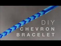 DIY Chevron Friendship Bracelet - YouTube
