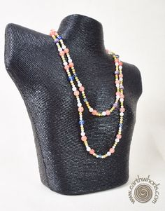 http://earthwhorls.com/product/mixed-stones-necklace/  So many stones - so little time! 30% off for the holidays!