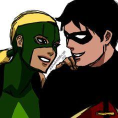 Robin & Artemis by boakwonstrictor