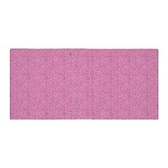 Pink Faux Glitter 3 Ring Binder