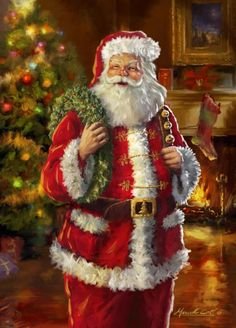 Im getting excited now i cant wait for christmas...this style of santa always reminds me of when i was a kid <3
