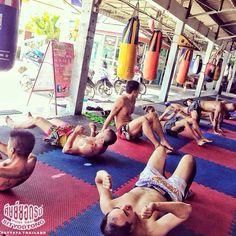 Muay Thai Sityodtong gym. Core work. nuannaree's photo on Instagram