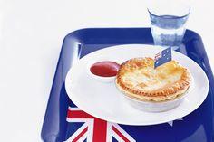 A quintessential Aussie beef pie. with added Vegemite for flavour. Aussie Pie, Aussie Food, Australian Food, Vegemite Recipes, Pie Recipes, Cooking Recipes, Savoury Recipes, Recipies, Dinner Recipes