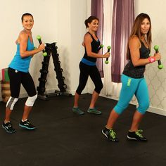 Get Fit While Gettin' Down With Zumba. #workout