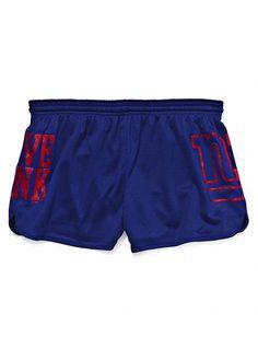 New York Giants Athletic Short - Victoria's Secret PINK® - Victoria's Secret I want. <3