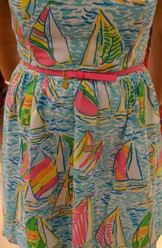 Let the Tide Pull Your Dreams Ashore: Maryland Lilly Pulitzer You gotta regatta with cute pink belt