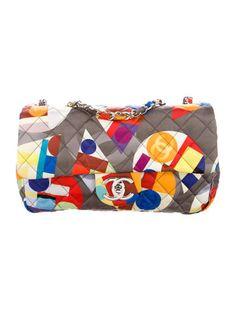 Chanel Multicolor Coco Color Medium Flap Bag #StatementStyle