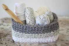 GRAB your FREE crochet basket pattern and get crafty! This is the perfect Crochet Basket Pattern for your modern home, nursery, office, you name it! I believe that all crocheters want to get a feel for how a pattern is and build a trust factor with the pattern designer. For that reason I wanted to make a free pattern to share for the love of crochet!