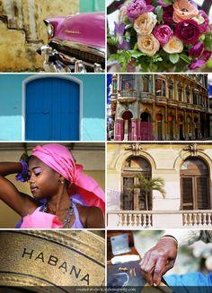 Havana Nights wedding color inspiration
