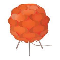 Buy it now Ikea Fillsta Retro Table Lamp, Orange Orange Table Lamps, Retro Table Lamps, Mood Light, Lamp Light, Light Bulb, Mesa Retro, Funky Lamps, Ikea Us, Piece A Vivre