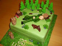 cake huntsman dort pro myslivce