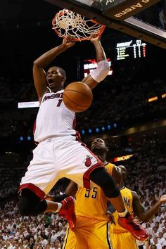 Chris Bosh Heat vs Pacers Eastern Conference Finals Playoffs 2014