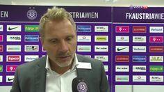 Thorsten Fink, Alex Grünwald, Tarkan Serbest und Osman Hadzikic analysieren den 2:0-Sieg gegen Ried.