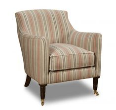 Cadogan Chair, Turned Legs David Seyfried Armchairs - Classic and Contemporary Bespoke Furniture made in UK