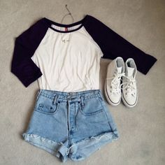 Take a look at the best summer clothes for school in the photos below and get ideas for your outfits! 10 cute summer school outfits you should try Image source Tumblr Outfits, Mode Outfits, Fashion Outfits, Style Fashion, Fashion Clothes, Womens Fashion, Fashion Trends, Tumblr Clothes, Fashion Fashion