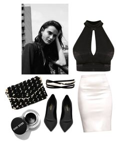 Designer Clothes, Shoes & Bags for Women Jay, Yves Saint Laurent, Black And White, Shoe Bag, Elegant, Polyvore, Stuff To Buy, Shopping, Accessories