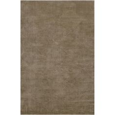 Frick Rug   Layer the floor with texture and pattern.