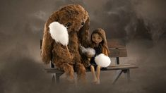 A Young Girl Fights a Sandstorm to Hold on to Her Childhood in the Stop Motion Animated Short 'Lili' Girl Fights, Stop Motion, Nostalgia, Childhood, Lily, Animation, Artist, Pictures, Hani
