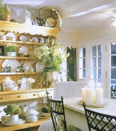 """from the book: """"The French Inspired Home"""" by Carolyn Westbrook via French Laundry blog // French Country Cottage"""