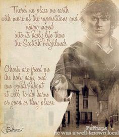The ghosts of the Highlands Outlander Fan Art, Outlander Quotes, Diana Gabaldon Outlander Series, Outlander Season 1, Outlander Book Series, Sam Heughan Outlander, Outlander Novel, Outlander Casting, True Blood