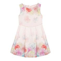 Baker by Ted Baker Girls' pink floral dress- | Debenhams