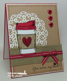 Stamps - North Coast Creations Warm My Heart, Our Daily Bread Designs Custom Doily Dies