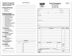 Use This Printable Business Form To Write Up An Estimate Of Parts