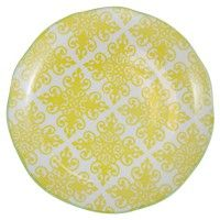 Hida Large Serving Plate (Yellow)