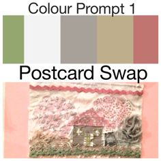 Colour prompt 1 (Nov 14) Pick at least 3 of the colours and include in a postcard