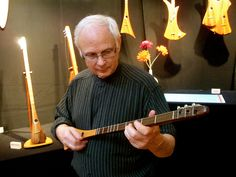 Artist/Musician Invents Easy-to-Play Instrument called The Strumstick