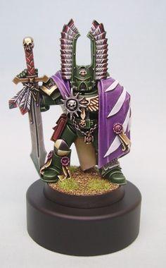 Dark Angel captain warhammer 40k