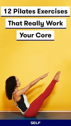 Strengthening your core is one of the best things you can do for your overall fitness. A strong core—which includes your abs, obliques, and lower back muscles—helps keep your body balanced and stable. Here are 12 Pilates moves that will engage your core m Pilates Workout Routine, Pilates Training, Abs Pilates, Club Pilates, Fitness Pilates, Pilates Reformer Exercises, Ab Exercise Routines, Abs And Obliques Workout, 10 Minute Ab Workout
