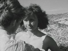 "Harriet Andersson dans "" Summer with Monika"" Ingmar Bergman , one of my favorite filmmakers…* Gif by me. Harriet Andersson, Ingmar Bergman, Film Books, Cristiano, Showgirls, Filmmaking, Cinema, Flower Girl Dresses, Actresses"