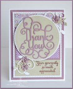 Thank You by Lisa S - FS489 at Splitcoaststampers