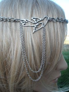 Lovely hair chain...#gypsy #boho #hippie