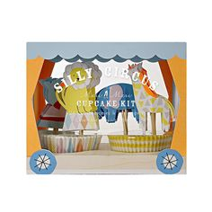 Dieses süße Cupcake Set im Zoo bzw Zirkus Design ist eine süße Dekoration auf einem Kindergeburtstag. Man braucht nur noch ein tolles Muffinsrezept und kann schon loslegen. Das Meri Meri - Cupcake Set Silly Circus gibt es bei www.party-princess.de