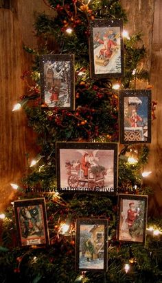 NOTE: I have put these on a Tree and It is DISPLAY ONLY. I have had many ask what to do with my Primitive Ornies so I decided to show you. Primitive Santa, Primitive Folk Art, Vintage Christmas, Merry Christmas, Lunar New, Vintage Signs, Wood Signs, Display, Ornaments