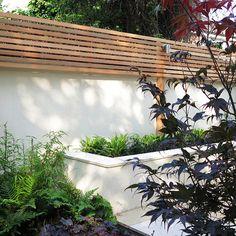Enchanting Bamboo Garden Fencing Ideas 6 Rewarding Clever Ideas: Lattice Fence Shades concrete f Garden Privacy, Backyard Privacy, Backyard Fences, Garden Fencing, Decking Fence, Fence Plants, Fence Art, Dog Fence, Pallet Fence