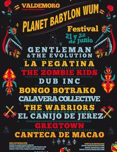 PLANET BABYLON WUM FESTIVAL 2013,  21 Y 22 DE JUNIO