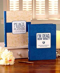 Make sure your loved ones know what to do when you're no longer here with the When I'm Gone Planner. Each planner contains 16 tabbed sections for organizing your information, such as Key Contacts, Beneficiaries, Personal Property, My Pets and more. Inclu