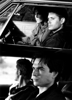 MY LIFE IS FREAKING COMPLETE......my loves.... Dean and Sam....and Damon and Stefan.... WOW..never realized they have the same first letters.