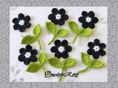 flowers crochet-crochet-crochet