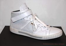 Alessandro Dell' Acqua Men Leather Italian Sneakers Shoes Sz US 11 EU 44 $455
