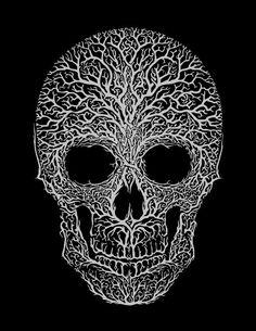Skull T-shirt Anthropomorph – tattoos for women meaningful Face Painting Designs, Body Painting, Skull Artwork, Skull Drawings, Day Of The Dead Art, Sugar Skull Art, Flower Skull, Airbrush Art, Anatomy Art