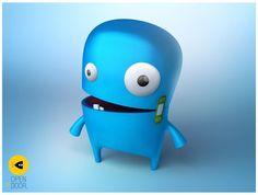 Sweet Monster Character #monster #character