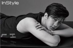 Park Sang Hyun in InStyle Korea